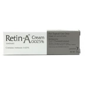 Retin – A 0.025 %